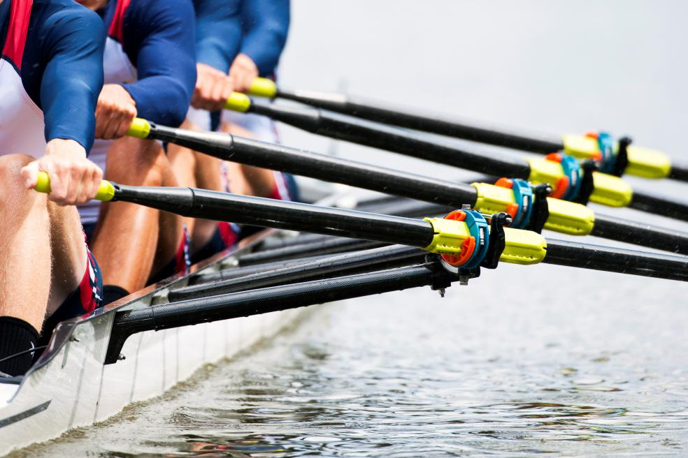 Image of rowers